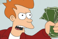 """You Can Own A Futurama """"shut Up And Take My Money!"""" Credit Card regarding Shut Up And Take My Money Card Template"""
