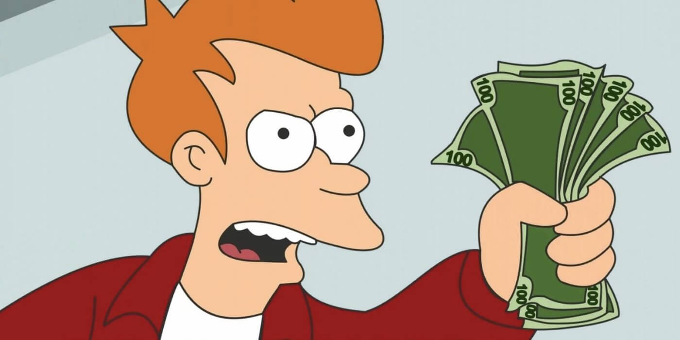"You Can Own A Futurama ""shut Up And Take My Money!"" Credit Card Regarding Shut Up And Take My Money Card Template"