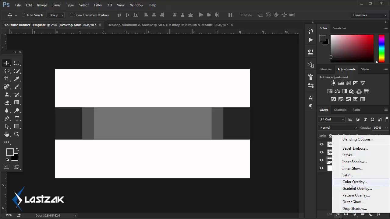 Youtube Banner Template Size 2016 Speed Art + Free Download throughout Youtube Banner Size Template