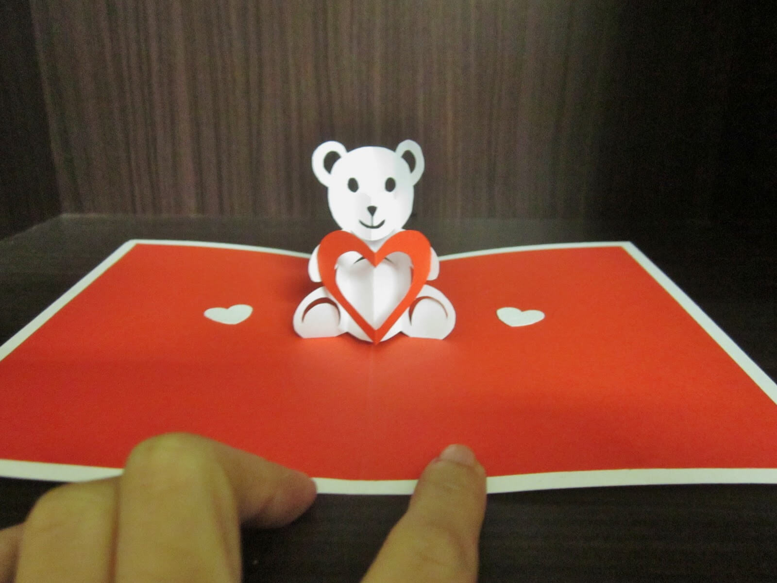 Yuenie's Fancies - Handmade Quilled Pop Up Cards, Bookmarks in Teddy Bear Pop Up Card Template Free