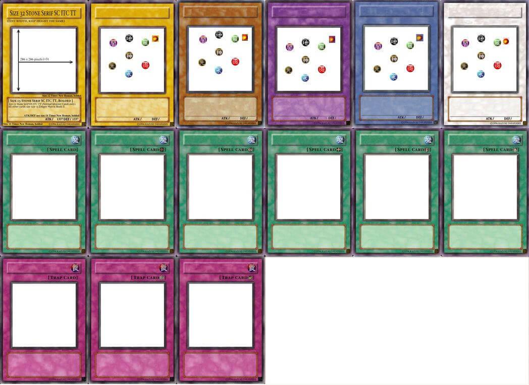 Yugioh Card Templatepyruvate   Meme Cards   Cards Inside Yugioh Card Template