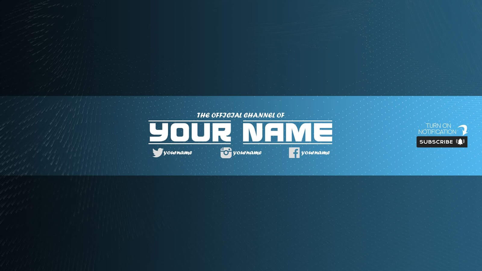 Zuhair Baloch: Free Youtube Banner Template #33 Download Now Intended For Banner Template For Photoshop
